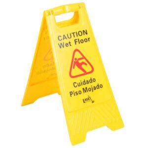 "Lavex Janitorial 25"" Caution Wet Floor"
