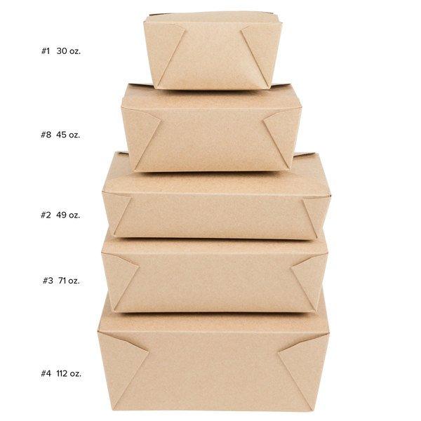 Kraft Microwavable Folded Paper