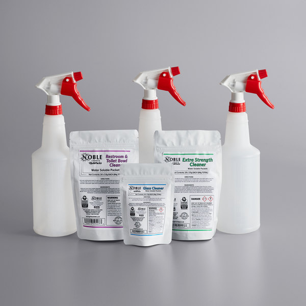 Noble Chemical QuikPacks 3 Chemical Cleaning Kit