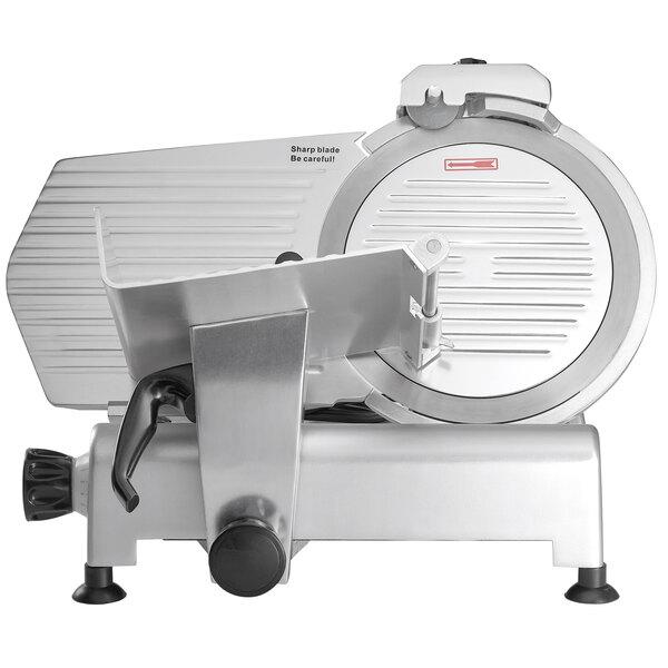 "Avantco SL312 12"" Manual Gravity Feed Meat Slicer - 1/3 hp"