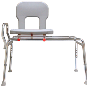 Eagle Health: Bariatric Swivel Sliding Transfer Bench