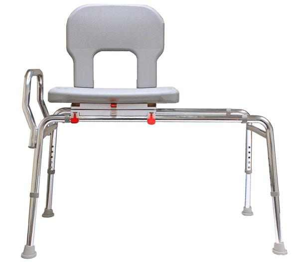 Eagle Health: Bariatric Swivel Sliding Transfer Bench