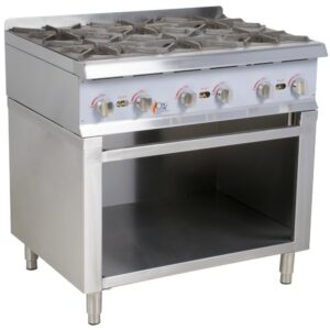 Burner Gas Range / Hot Plate with Cabinet Base