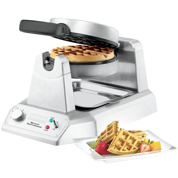 Single Belgian Waffle Iron
