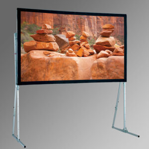 Fast Folding Projection Screen