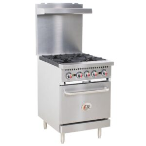 Natural Gas 4 Burner 24