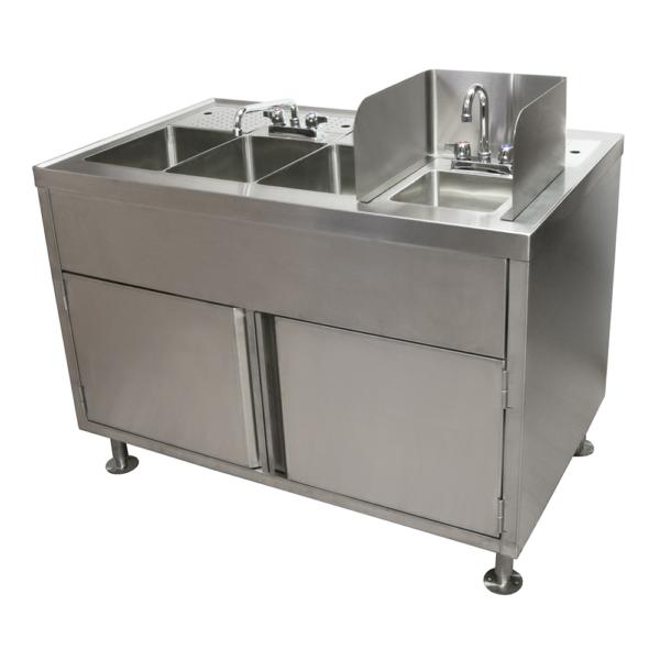 Food Truck Wash Station