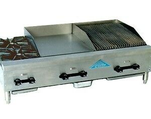 "Burner & 18"" Broiler & 18"" Griddle Combo"